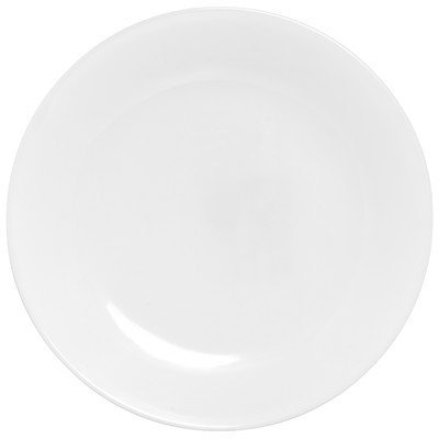 Corelle Livingware Winter Frost White 8.5 Plate (Set of 4) by Corelle Coordinates (Frost Corelle Livingware Winter)