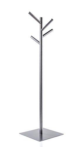 Taschenbaum Garderobenständer Taschen | 4 Haken - 90 cm Eisen - 3.5 kg | Kleinmöbel Wohnung und Büro | Flurgarderobe Aufbewahren Accessoires