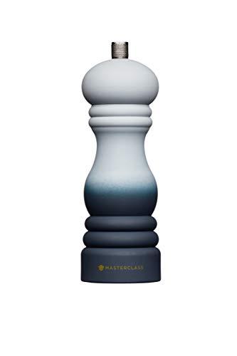 MasterClass MCSNPOMBGRY17 - Molinillo de pimienta o sal con tapa intercambiable 17 cm