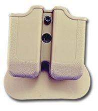 Browning BDM (9) Double Paddle Mag Pouch Desert Tan dreht 360Grad langlebigem Polymer hergestellt -