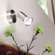 LUMINATO / LED-Wandspot dreh- und schwenkbar / 1 x LED