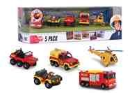 Feuerwehrmann Sam Fahrzeuge 5er - Set Special thumbnail
