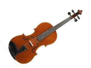 Dresden de barbilla violín 4/4-3/4tamaño