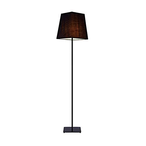 Stehlampe for Wohnzimmer, Moderne Stehleuchte mit hängenden Stoffschirm, hohe Pfahl Lampe for Bürostehleuchte verdickte