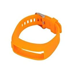 Tradico Watch Wrist Band W/Tool Strap for Garmin Vivo Smart HR Watchband Orange