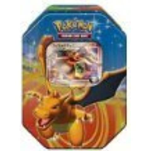 Pokemon Platinum Fall 2009 Collector Tin Set Charizard with Charizard G LV X Foil Card by Pokemon Center