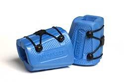 Aqua Jogger X-Cuffs, 5-Inch/Blue
