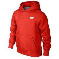 Nike Boys YA76 Brushed Fleece Pullover Hoodie - M (Kids Fleece Nike)