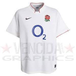 09 Home Rugby (Nike England Home Replica Rugby Shirt 09/10 - X-Large)