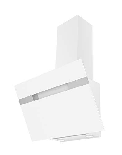 Amica KH 17414W Dunstabzugshaube 60 cm weiß Schräghaube Kopffreihaube