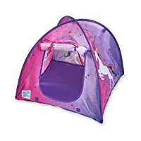 "Bluenido Princess Unicorn Dollhouse Tent Perfect for 18"" American Girl Dolls+"