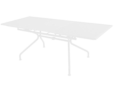 EMU Piano table rectangulaire extensible cm. 160/210 x 90 Article 3423 Couleur blanc brillant 01