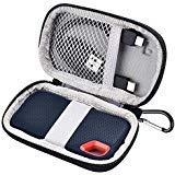 Tasche für SanDisk Extreme Portable SSD T5/T3 500GB 250GB 500GB 1TB 2TB & USB Kabel(Schwarz)