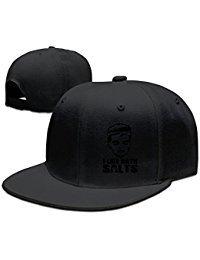 Custom Unisex Adjustable Fashion I Like Bath Salts Snapback Flat Cap One Size