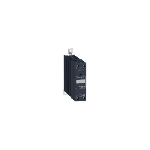 Schneider SSM1A130BD Halbleiterrelais, Hutschiene, E: 4-32 VDC, A: 24-280 VAC, 30 A, 1ph., Nullspannungsschaltend