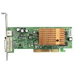 MSI ATI RADEON RX9550SE-TD128 128MB DDR AGP DVI TV Out Grafikkarte, Retail