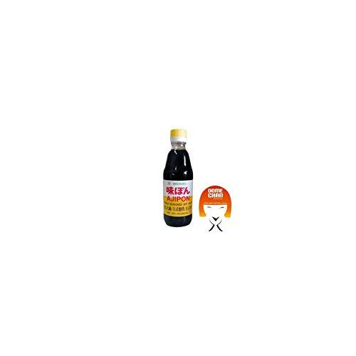 Soja-Sauce - Ponzu Ajipon, mit Zitrusfruchtsaft und Essig, Mitsukan, Japan, 360 ml (Datum-sauce)