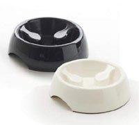 Savic Slow Down Dog Bowls Size 3 - Black from Savic