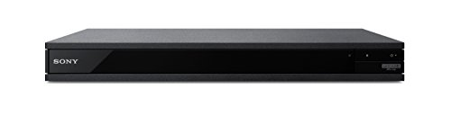 210Cx1AQGHL - Sony UBP-X800 4K Ultra HD Blu-Ray Disc Player with High-Resolution Audio and Hi-Fi Quality - Black