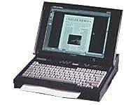 "Canon Libris BN 750 P 233 MHz RAM 64 Mo HDD 3 Go Aurora 64V+ Win95 12.1"" TFT 800 x 600 ( SVGA ) noir"
