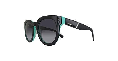 Diesel Damen DL0230-05B-51 Sonnenbrille, Black/Other/Gradient Smoke, 51
