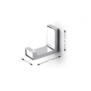Baño Diseño - Percha De Baño Dual Baño Diseño Mia