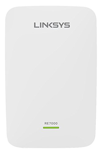 Linksys RE7000-EU - Extensor de Red Wi-Fi AC1900+ MAX Stream (MU-MIMO, Itinerancia Continua, Puerto Gigabit, Doble Banda, Cross-Band, Beamforming), Blanco