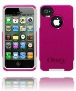 Otterbox Strength Edition Commuter Case for iPhone 4/4S/4G/4GS - Retail Packaging - Hot Pink/White (4 Otterbox Iphone 4s)