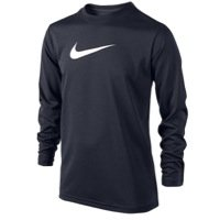 Nike Jungen Athletic Shirt (Nike Jungen Legend Long Sleeve Athletic T-Shirt)