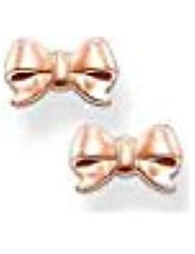 Thomas Sabo Schleife Ohrstecker Silber rosévergoldet H1816-415-12
