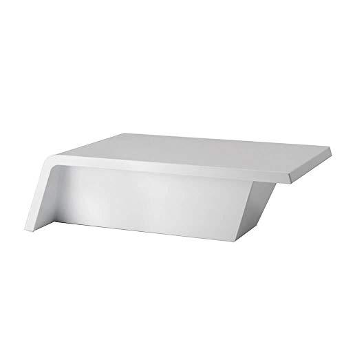 Vondom Rest mesa baja de exterior h.30 106x56 cm blanco: Amazon.es ...