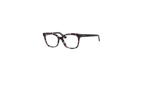 Christian Dior - MONTAIGNE37, Wayfarer, Acetat, Damenbrillen, CREAM HAVANA BLACK(TFV), 52/17/140