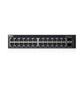 DELL X-Series X1026 Netzwerkschalter (SNMPv1, SNMPv2, SNMPv3, SMIv1, SMIv2, IGMPv1, IGMPv2, IGMPv3, IEEE 802.1ab, IEEE 802.1D, IEEE 802.1p, IEEE 802.1Q, IEEE 802.1s, IEEE 802.1v, IEEE 802.1w, IEEE 802, Géré, L2+, Gigabit Ethernet (10/100/1000), 1U)