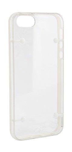 Xqisit iPlate Style Case pink Schutzhülle, Hardcase für iPhone 5 / 5S weiß
