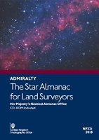The Star Almanac 2018 (Star Chart Navigation)