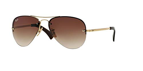 Ray-Ban RB3449 001/13 59M Arista/Brown Gradient Sunglasses