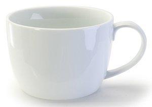 BIA Cordon Bleu White Porcelain 18 ounce Caf??au Lait Mug by BIA Cordon Bleu