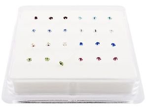 pack-24-sterling-silver-nose-studs-clawset-jeweljewels-can-not-fall-out-8-different-colour-cz-jewels
