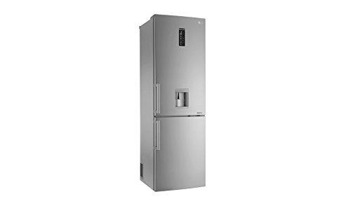 LG GBS6226BPS Autonome 314L A++ Platine, Acier inoxydable réfrigérateur-congélateur - Réfrigérateurs-congélateurs (314 L, Pas de givre (réfrigérateur), SN-T, 9 kg/24h, A++, Platine, Acier inoxydable)