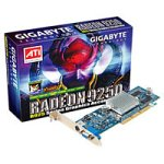 Gigabyte RADEON 9250 Grafikkarte 128MB DDR (AGP8x DDR 16Mx16 TVO Support DirectXr 9.0 compatibility and full DirectXr 8.1, V-Tuner2 und PowerDVD 5)