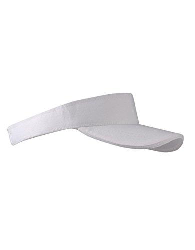 Sun Visor Cap Sandwich Sonnenblende Mütze Sport Kappe viele Farben (White)