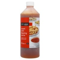Chefs Larder Sweet Chilli Dipping Sauce 1L Suitable For Vegetarians