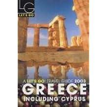 Greece 2003 (Let's Go)