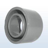 Bague adhésifs, Embout/manchons à coller PVC, Red 50x25 mm
