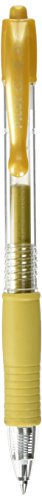 Pilot Pen 4902505461736 - Penna a gel G2 07, colore: Oro metallizzato