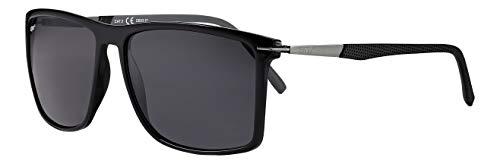 Zippo Herren Sunglasses UV400 Sonnenbrille, Schwarz, Einheitsgröße