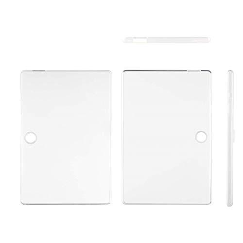 Acer Zubehör Tablet Tasche / Protective Sleeve (geeignet für das Acer Iconia One 10 (B3-A50 und B3-A50 Full HD), universelle Schutzhülle, Bumper Case, trendiges Design) transparent