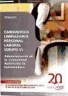 Descargar Libro Camarero/a Limpiador/a, Personal Laboral (Grupo V) de la Administración de la  Comunidad Autónoma de Extremadura. Temario (Colección 420) de Sin datos