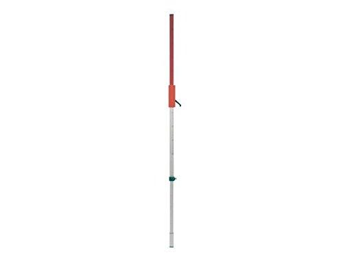 Laser-Latte Messlatte für Rotationslaser 130-240 cm mit Tasche,Gleitadapter/Klemmhebel u. Libelle