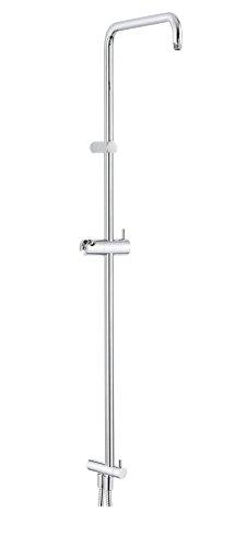Preisvergleich Produktbild Grünblatt Wellness Duschsystem Steigrohr mit Umschaltventil und Brauseschläuche ohne Regenbrause und Handbrause